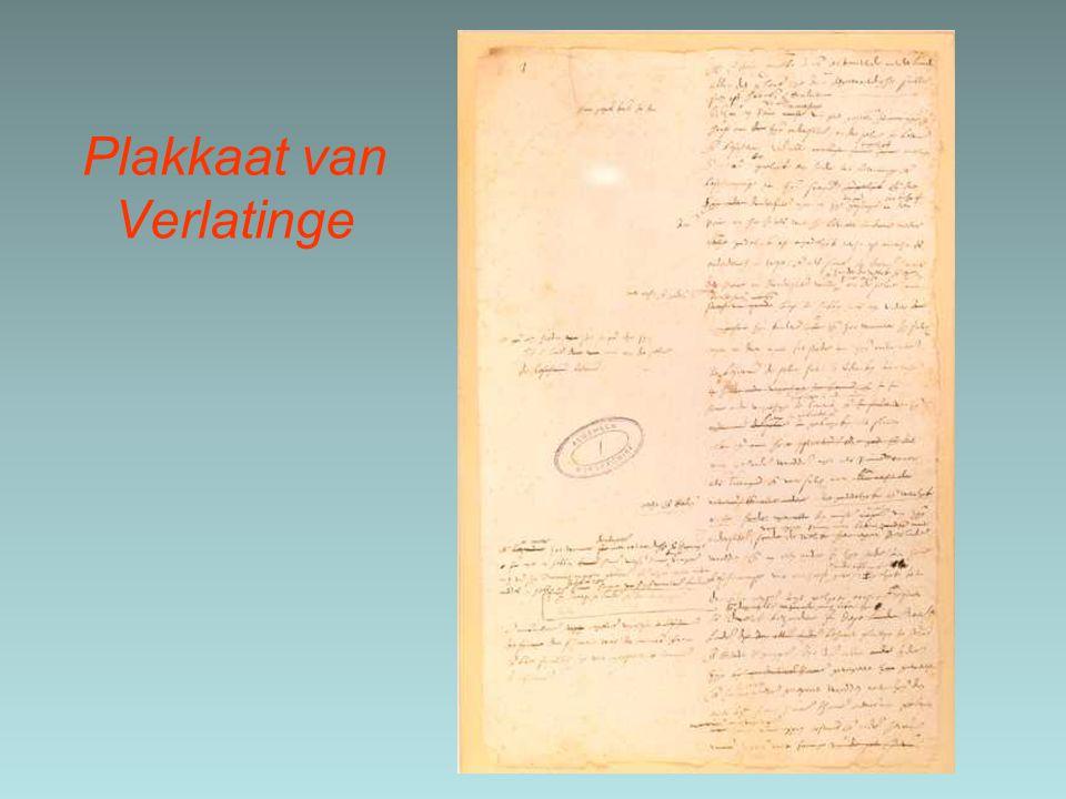 Plakkaat van Verlatinge