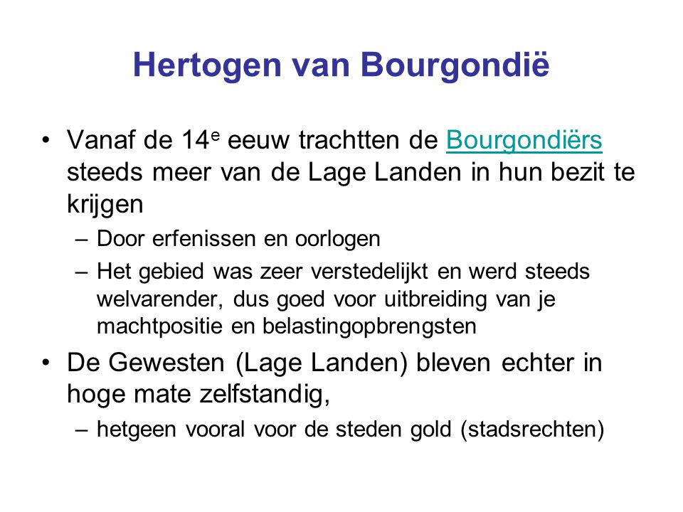 Hertogen van Bourgondië