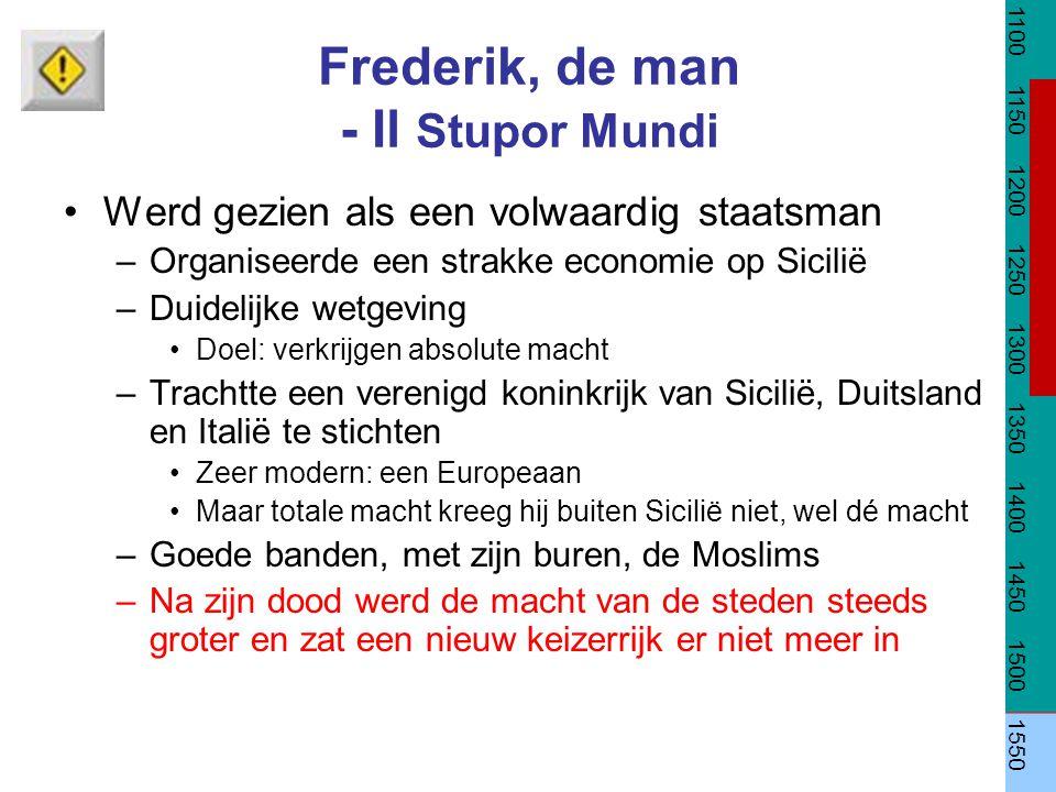 Frederik, de man - Il Stupor Mundi
