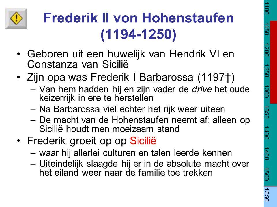 Frederik II von Hohenstaufen (1194-1250)