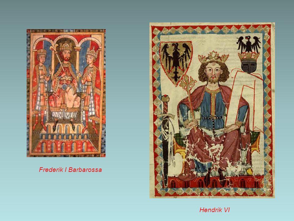 Frederik I Barbarossa Hendrik VI