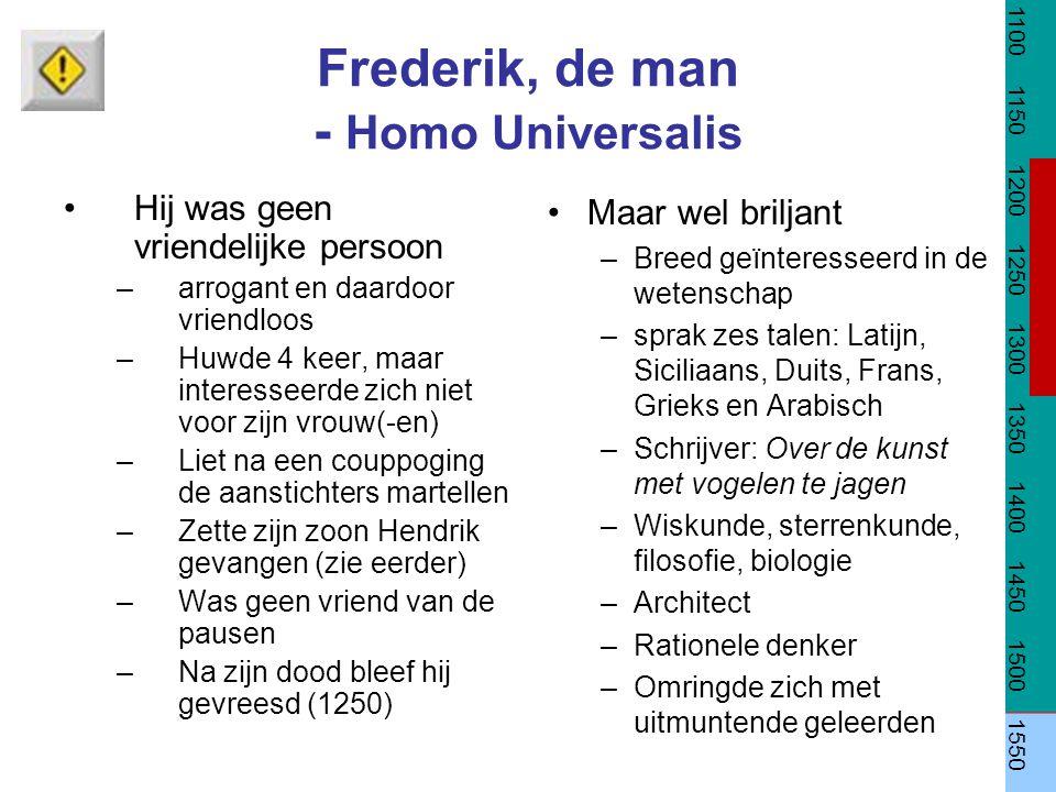 Frederik, de man - Homo Universalis