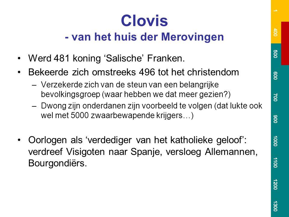 Clovis - van het huis der Merovingen