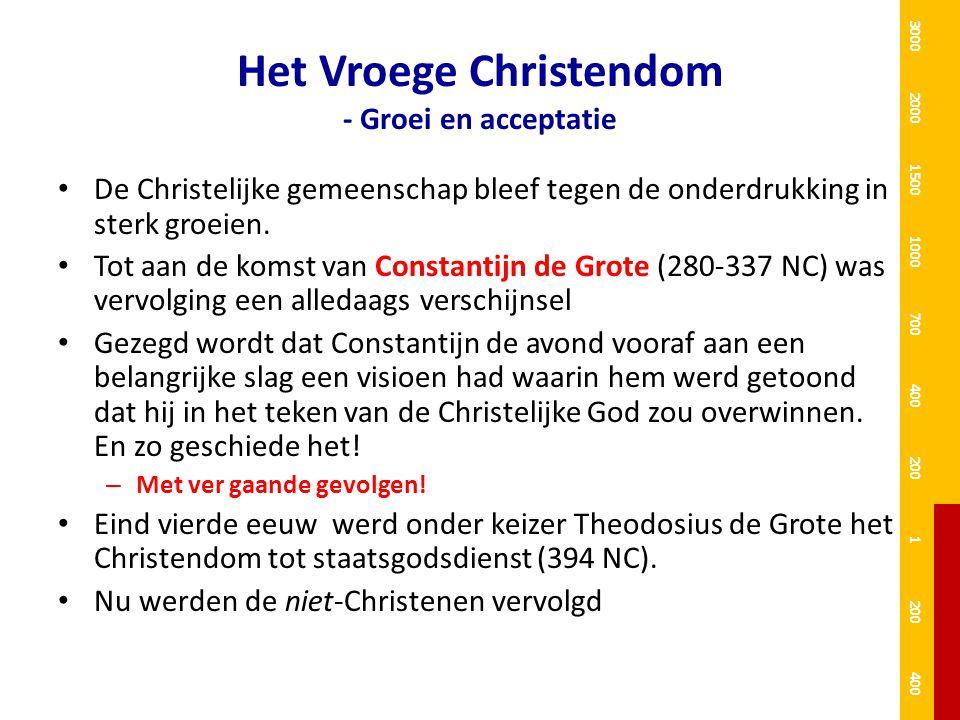 Het Vroege Christendom - Groei en acceptatie