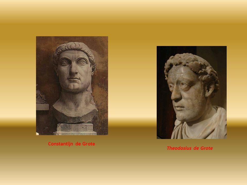 Constantijn de Grote Theodosius de Grote