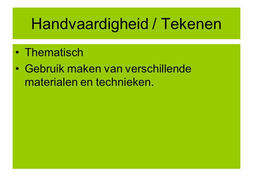 Handvaardigheid / Tekenen