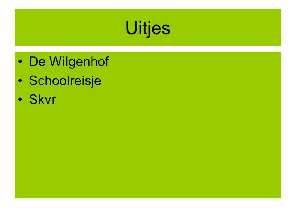 Uitjes De Wilgenhof Schoolreisje Skvr