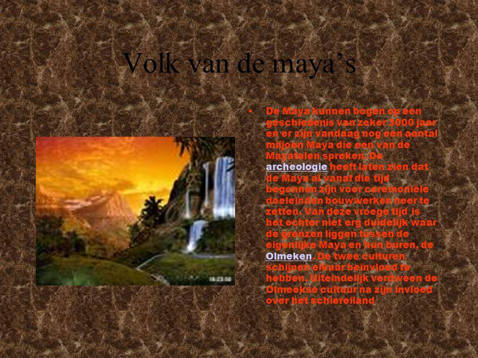 Volk van de maya's