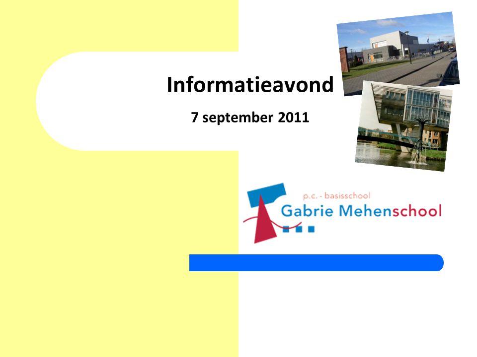 Informatieavond 7 september 2011