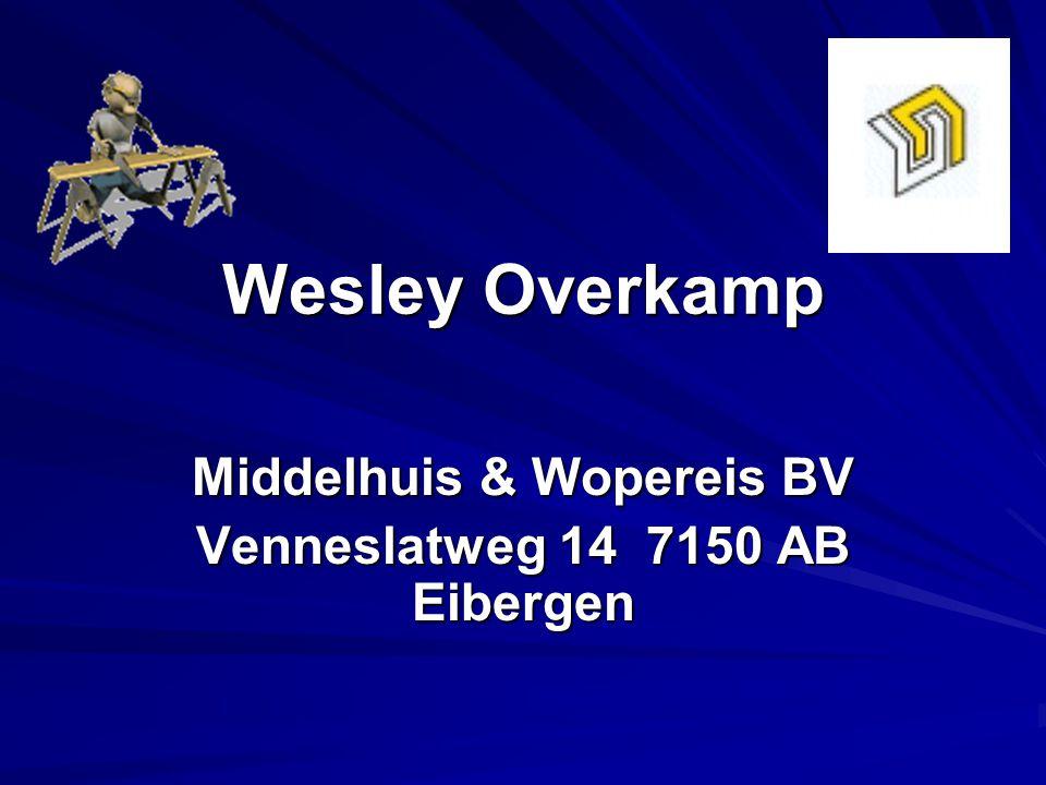 Middelhuis & Wopereis BV Venneslatweg 14 7150 AB Eibergen