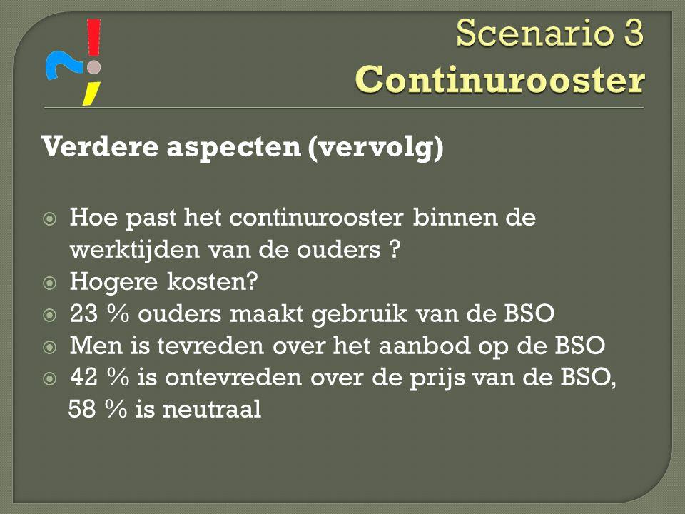 Scenario 3 Continurooster