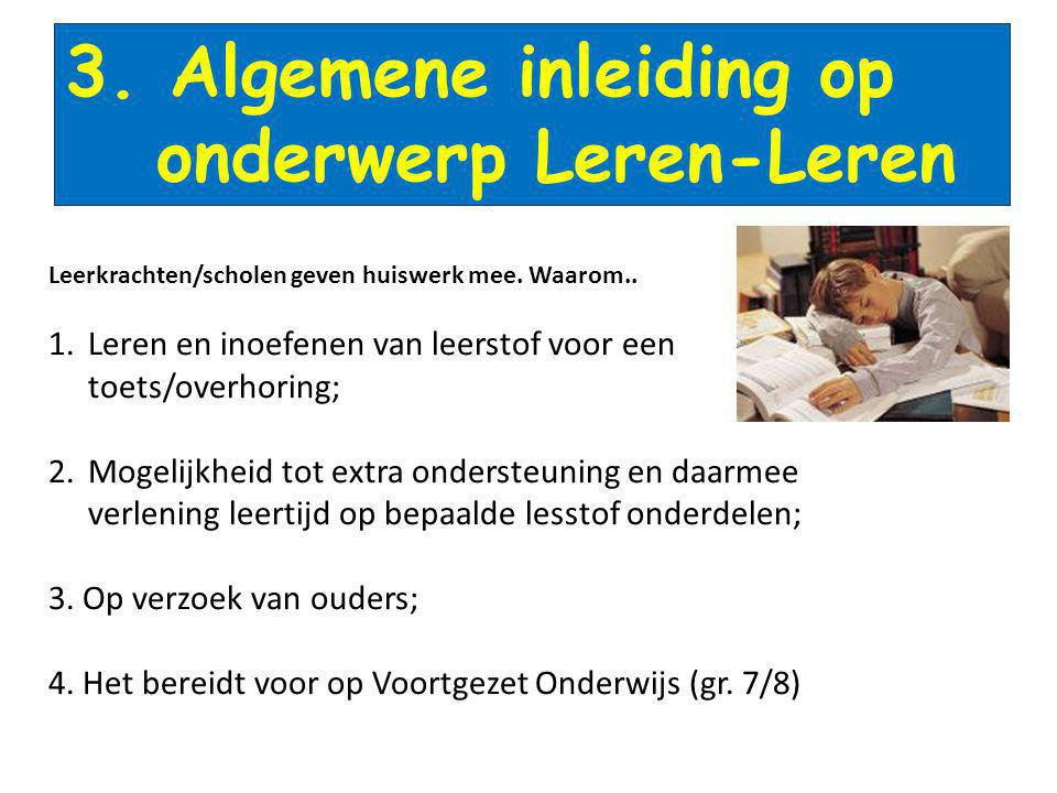 onderwerp Leren-Leren