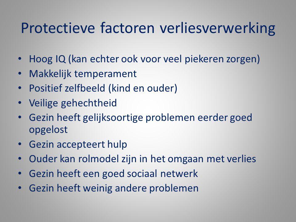 Protectieve factoren verliesverwerking