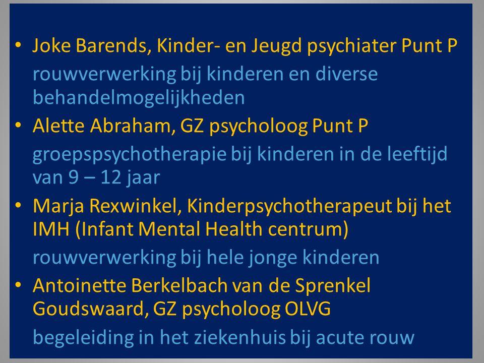 Joke Barends, Kinder- en Jeugd psychiater Punt P