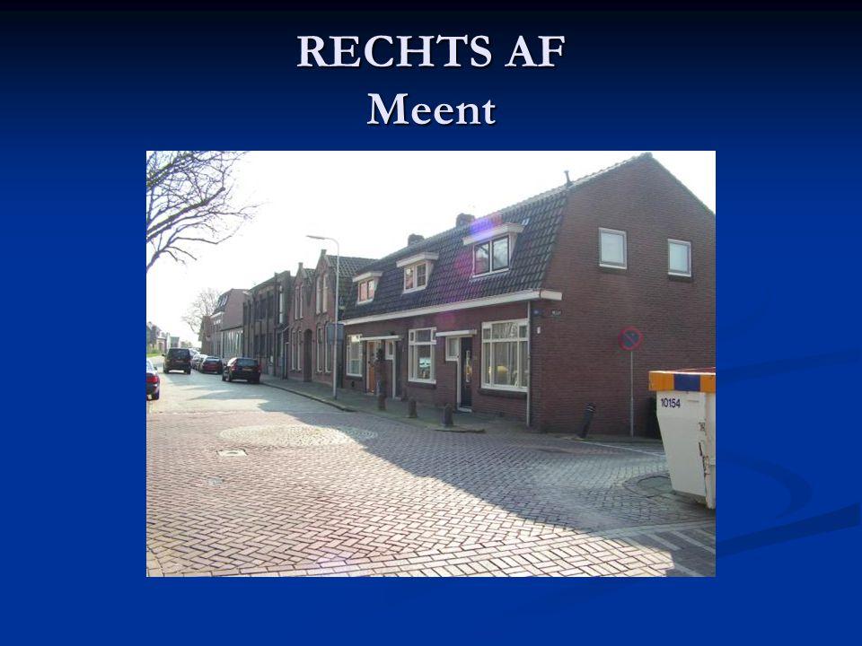 RECHTS AF Meent