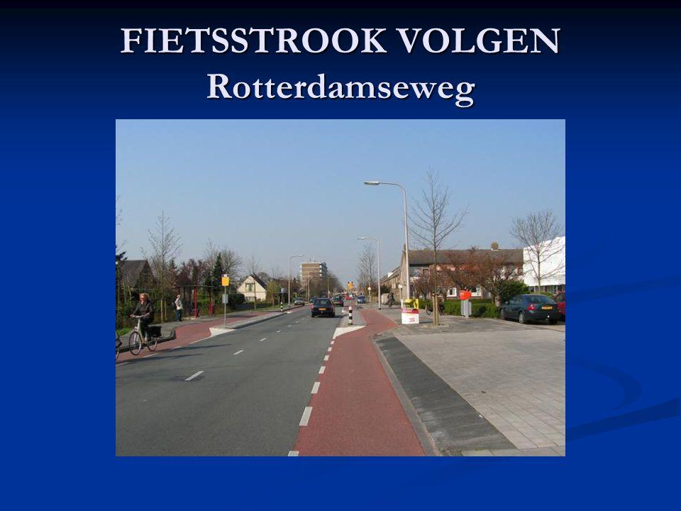 FIETSSTROOK VOLGEN Rotterdamseweg