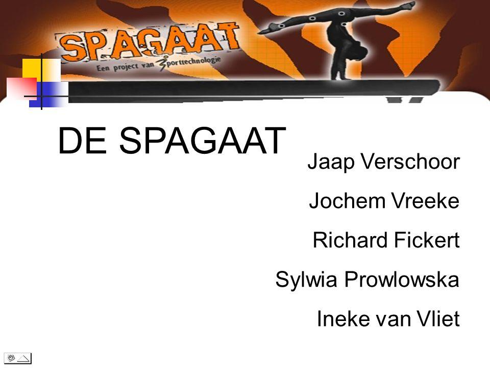 DE SPAGAAT Jaap Verschoor Jochem Vreeke Richard Fickert