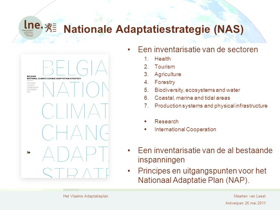 Nationale Adaptatiestrategie (NAS)