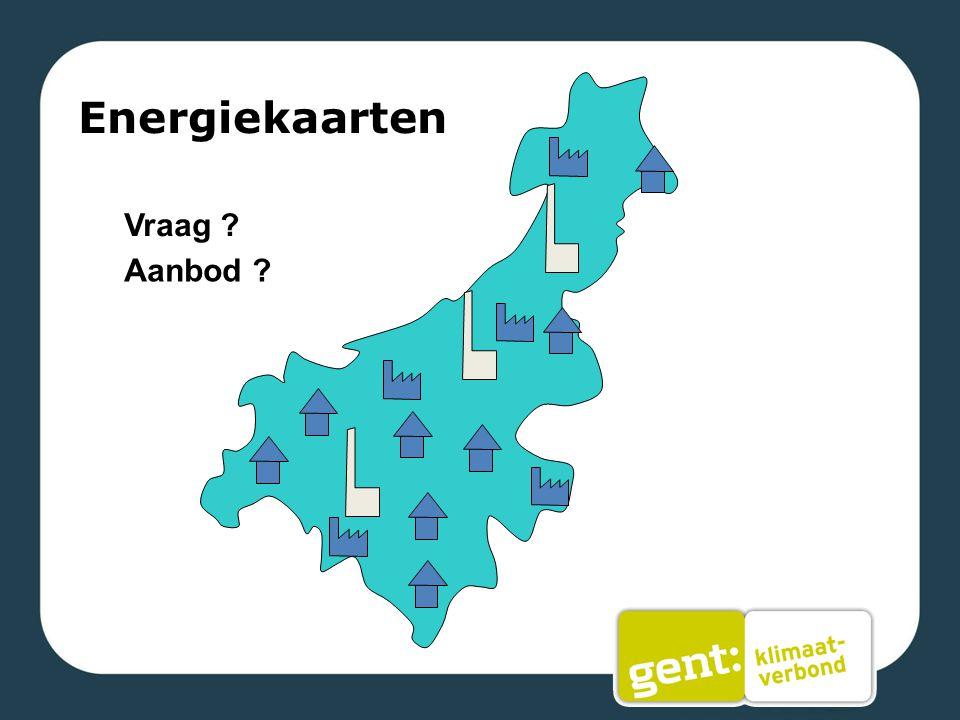 Energiekaarten Vraag Aanbod