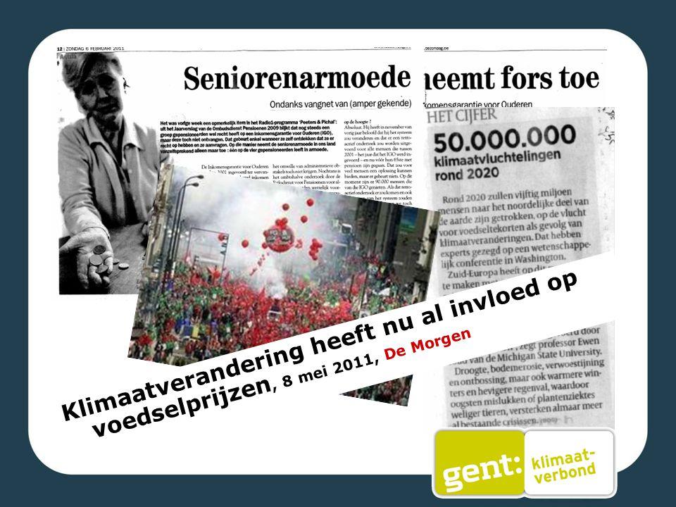 Voor Stad Gent is ook de sociale impact van klimaatverandering belangrijk. Energiearmen, nieuwe migratiestromen door klimaatvluchtelingen,…