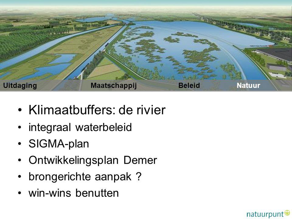 Klimaatbuffers: de rivier