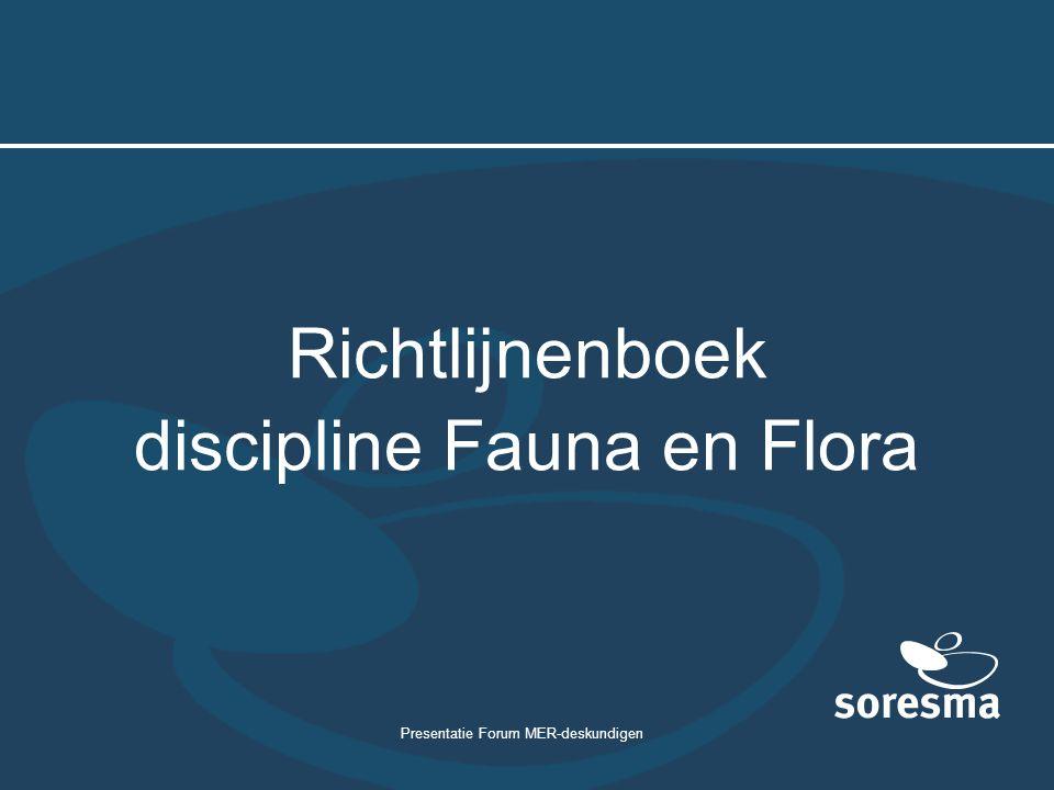discipline Fauna en Flora
