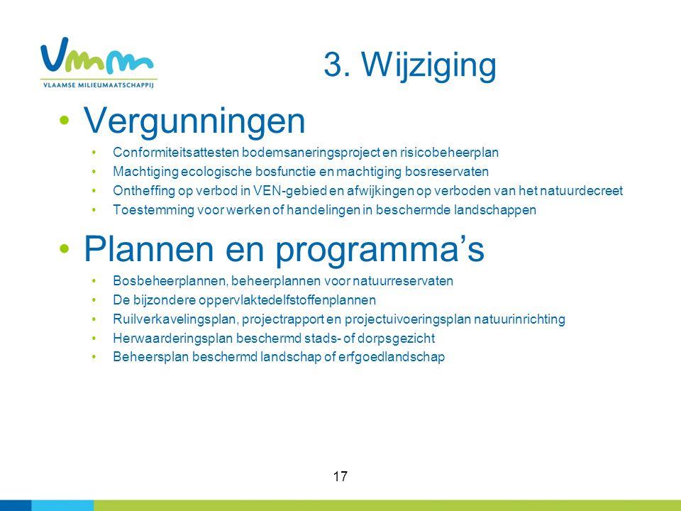 Plannen en programma's