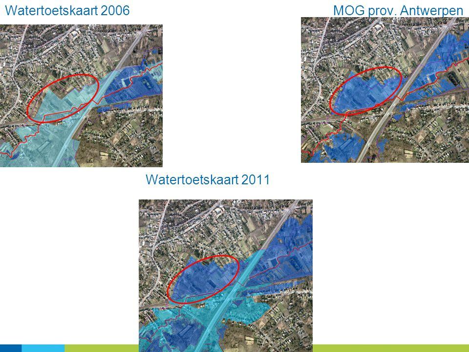 Watertoetskaart 2006 MOG prov. Antwerpen