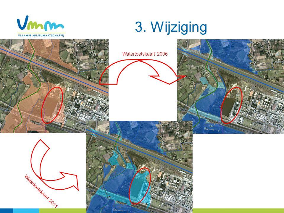 3. Wijziging Watertoetskaart 2006 Watertoetskaart 2011 27