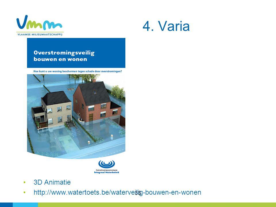 4. Varia 3D Animatie http://www.watertoets.be/waterveilig-bouwen-en-wonen 36