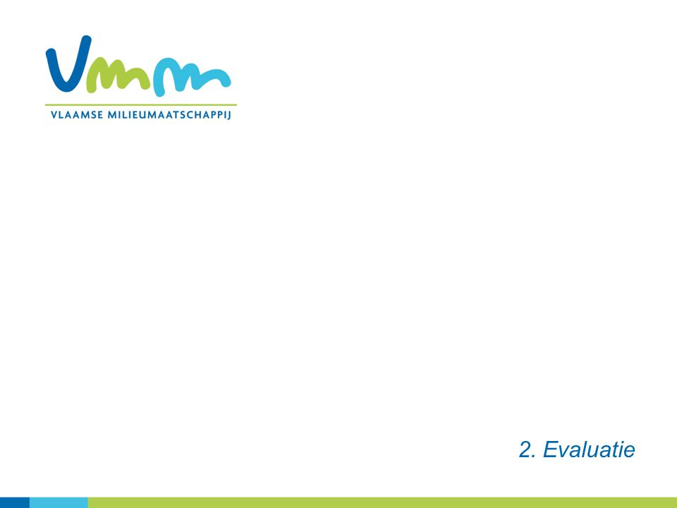 2. Evaluatie