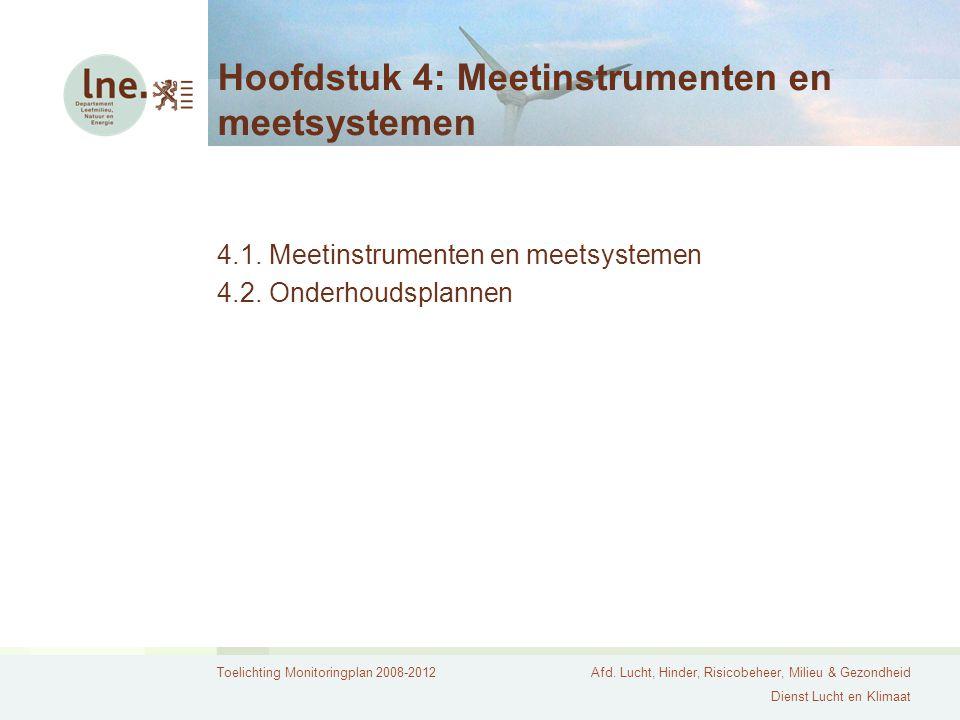 Hoofdstuk 4: Meetinstrumenten en meetsystemen