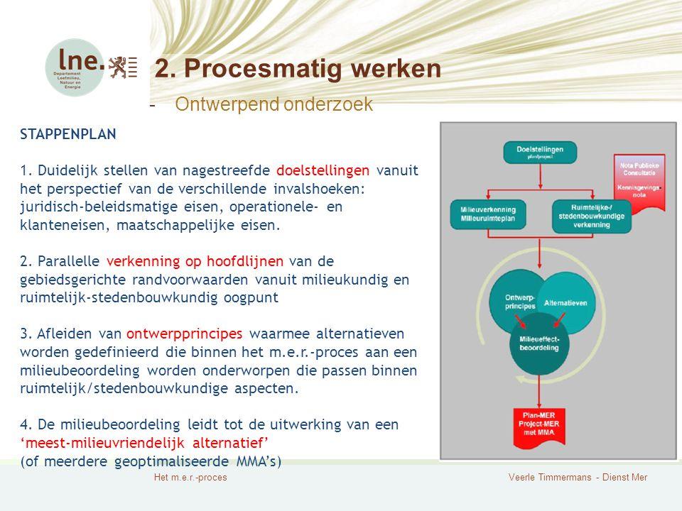 2. Procesmatig werken Ontwerpend onderzoek