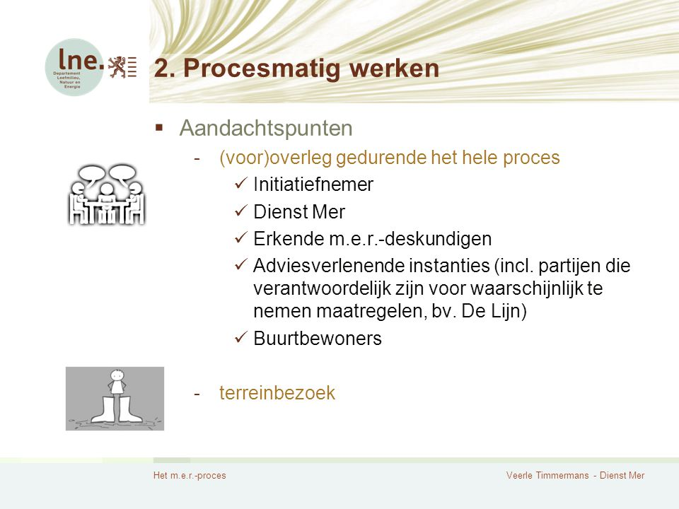 2. Procesmatig werken Aandachtspunten
