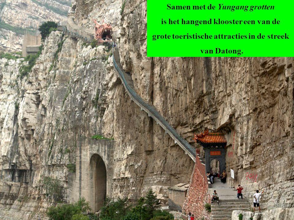 Samen met de Yungang grotten is het hangend klooster een van de