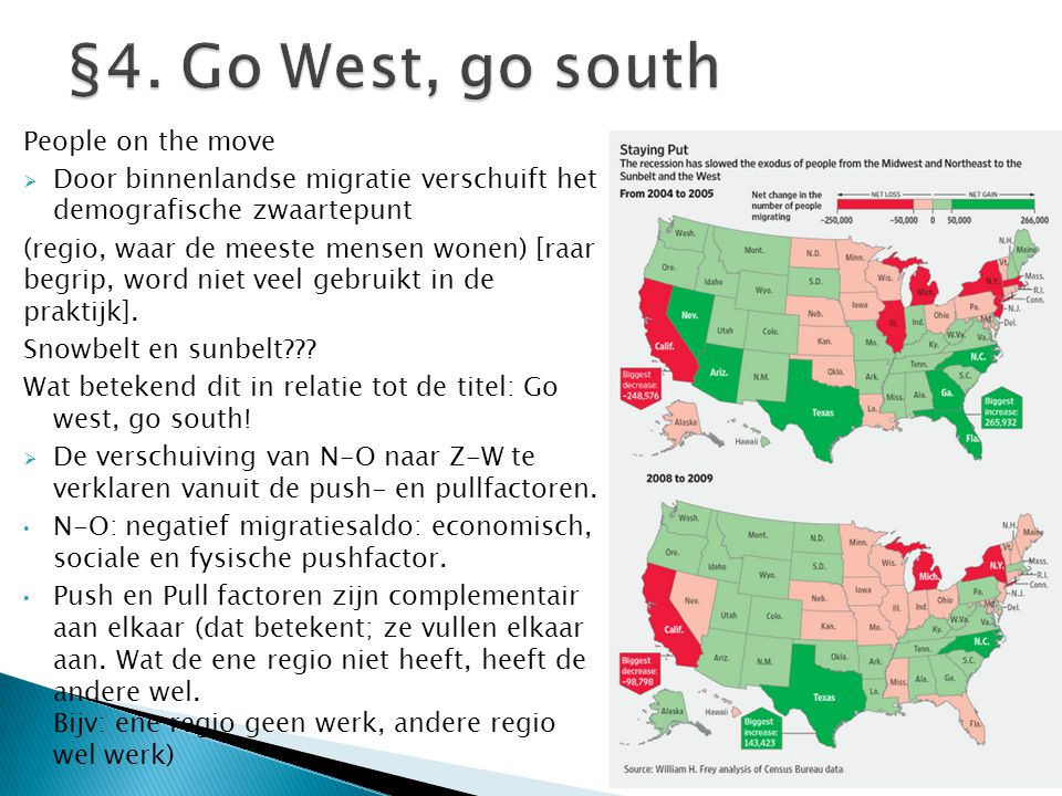 §4. Go West, go south People on the move