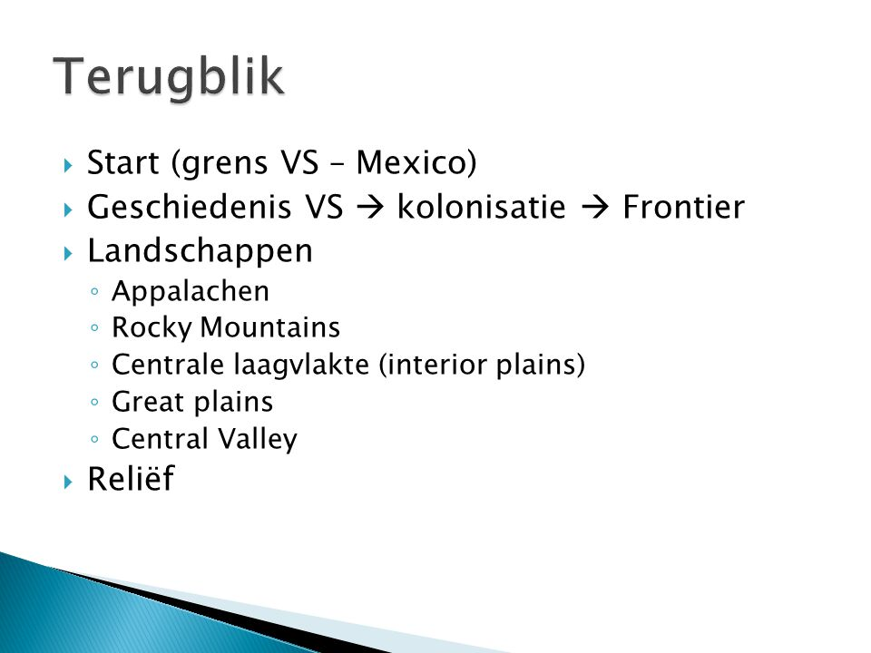 Terugblik Start (grens VS – Mexico)
