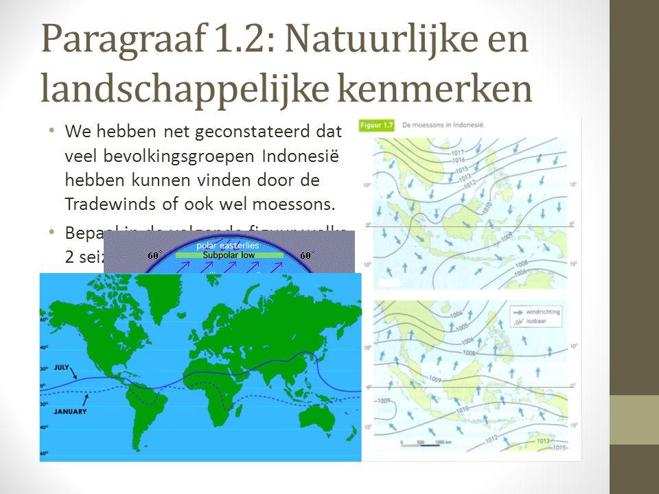 Paragraaf 1.2: Natuurlijke en landschappelijke kenmerken