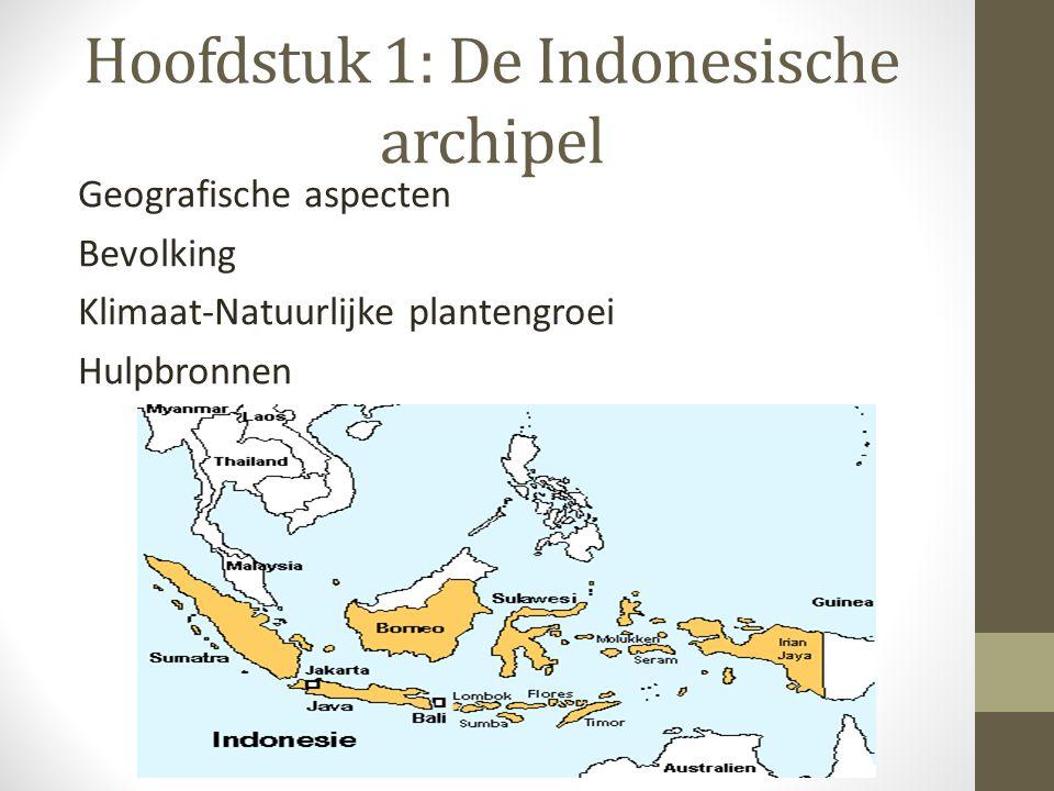Hoofdstuk 1: De Indonesische archipel