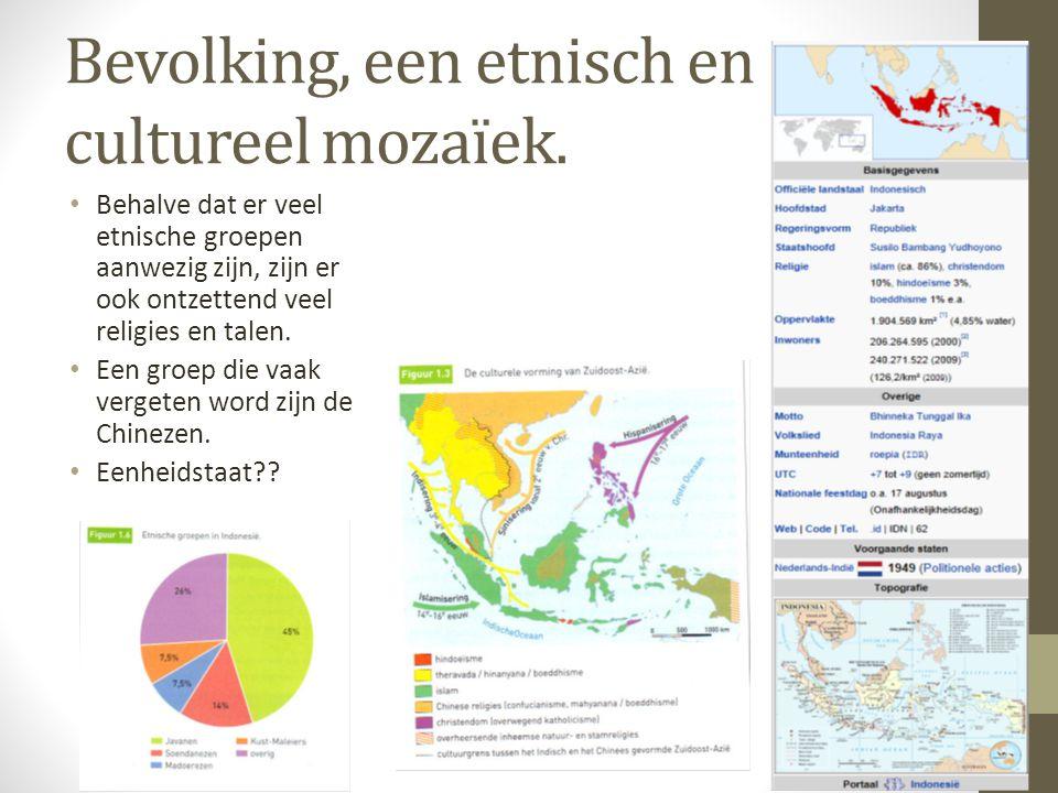 Bevolking, een etnisch en cultureel mozaïek.