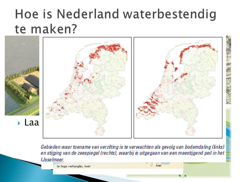 Hoe is Nederland waterbestendig te maken
