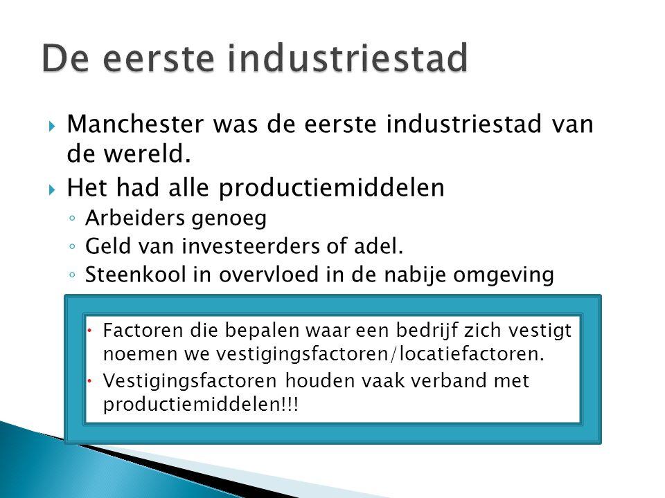 De eerste industriestad