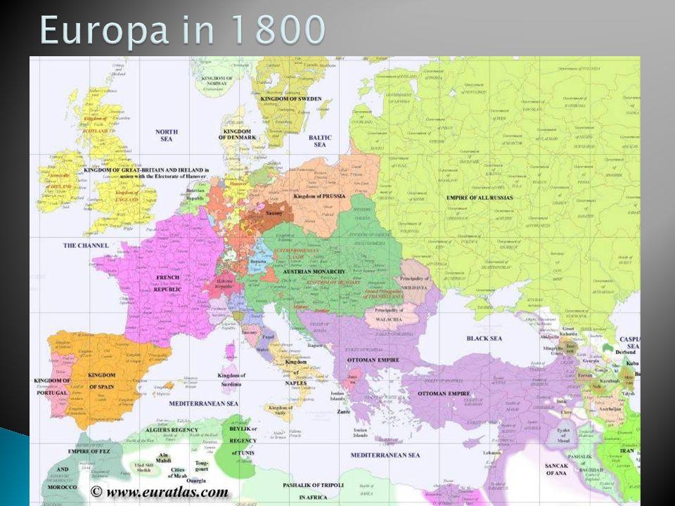 Europa in 1800