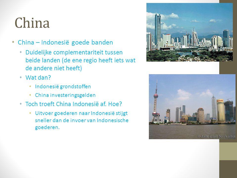 China China – Indonesië goede banden