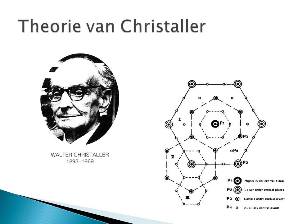Theorie van Christaller