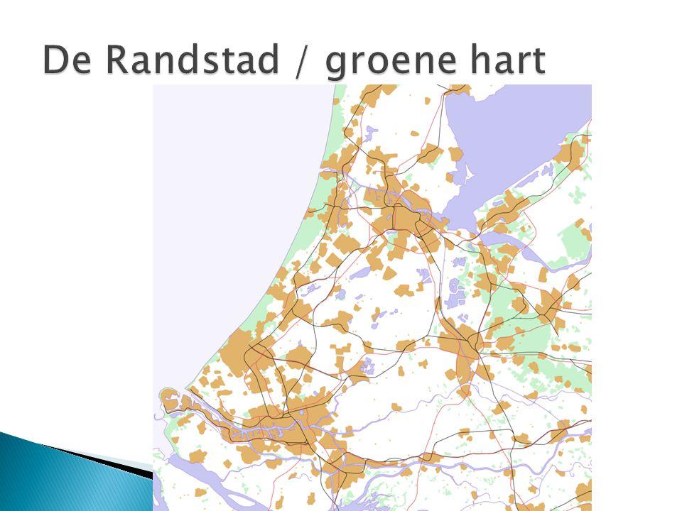 De Randstad / groene hart