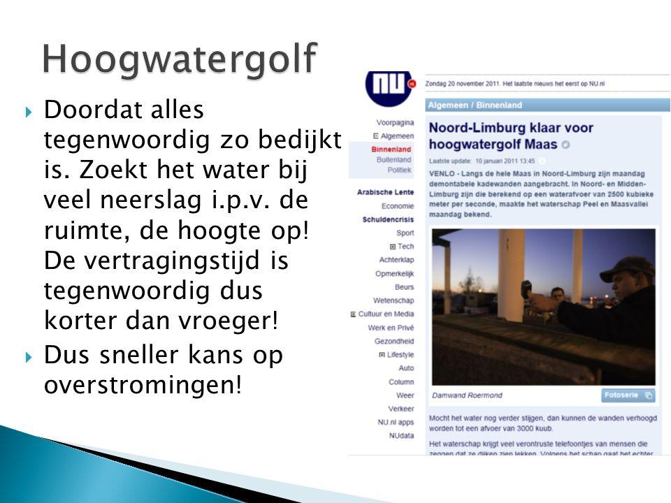 Hoogwatergolf