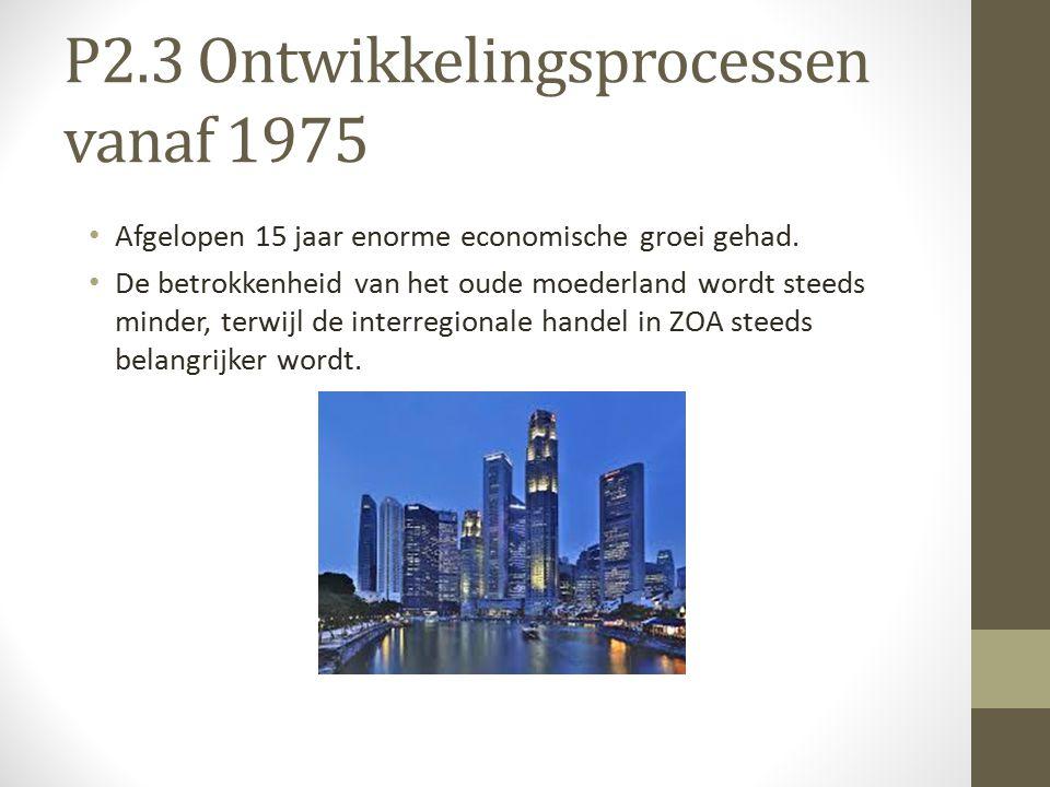 P2.3 Ontwikkelingsprocessen vanaf 1975