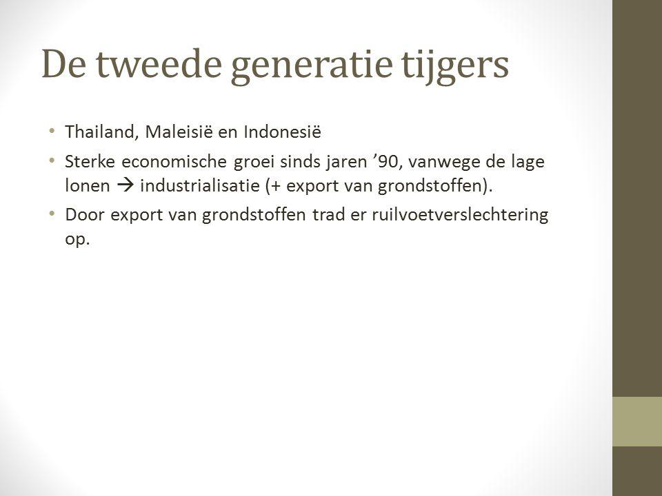 De tweede generatie tijgers