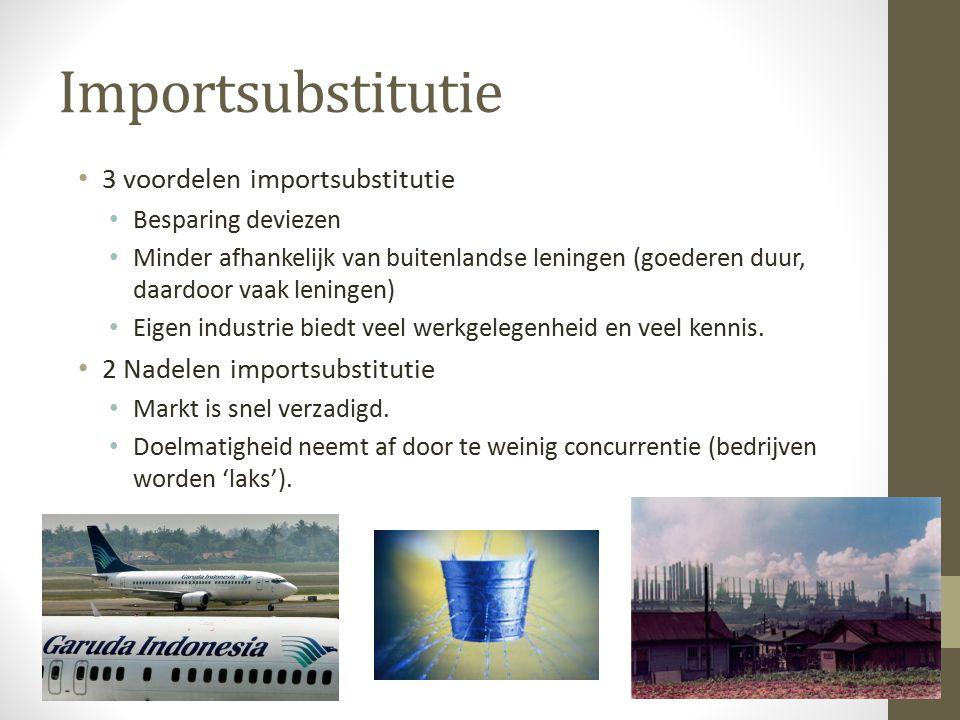 Importsubstitutie 3 voordelen importsubstitutie